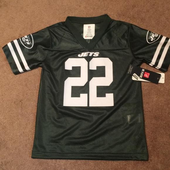 buy popular f514c 2e7a3 Brand new Kids small NY Jets NFL jersey Matt Forte NWT
